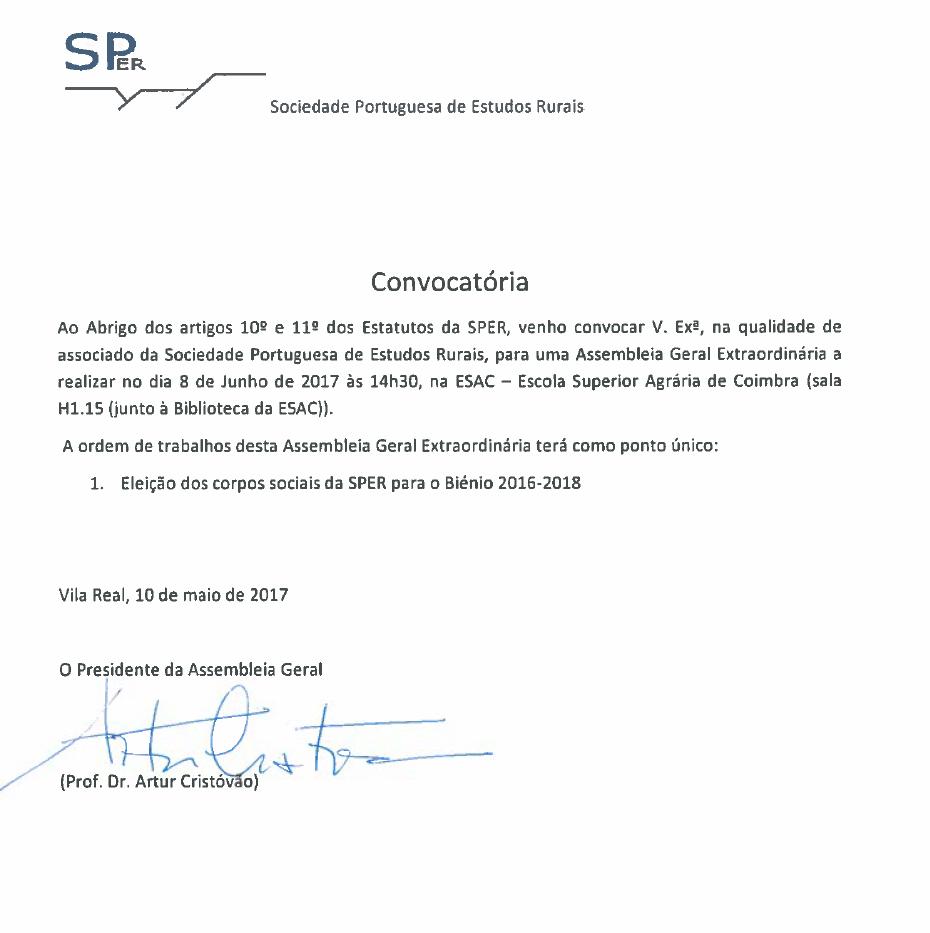 convocatória AG extr 2017